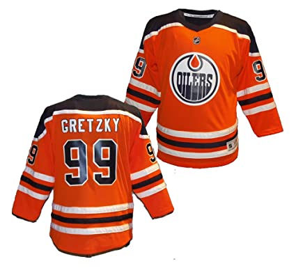 size 40 2650a fdc6f Reebok Youth Wayne Gretzky Edmonton Oilers Jersey (Youth Small/Medium)