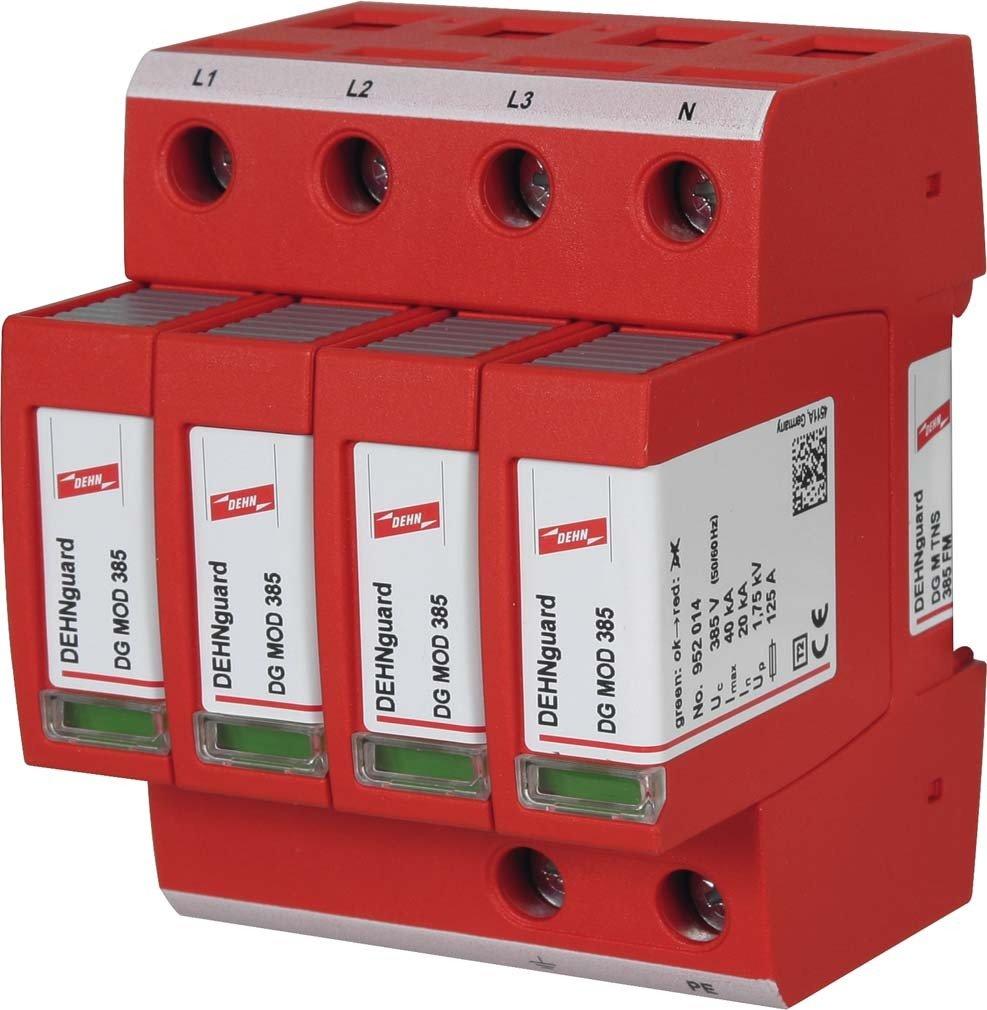 Dehn 952409/Ableiter /Überspannungsschutz tipo-2/dg-m TNS 385/FM