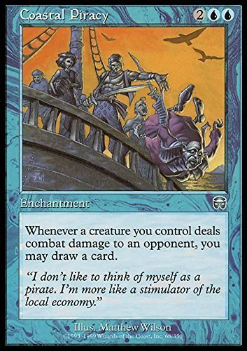 Magic: The Gathering – Coastal Piraterie – mercadian MASQUES Magic: The Gathering