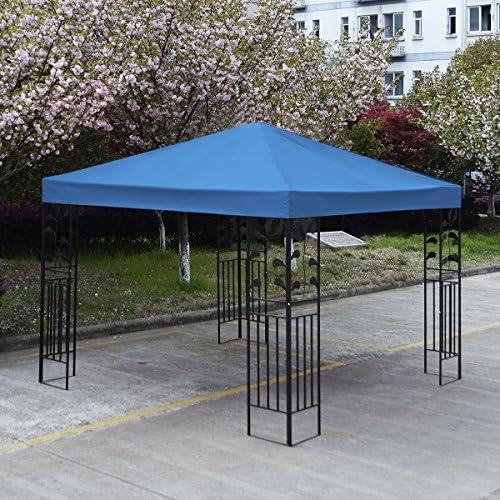 Lona Costway de repuesto para carpa de jardín, 3 x 3 m, de 1 o 2 ...