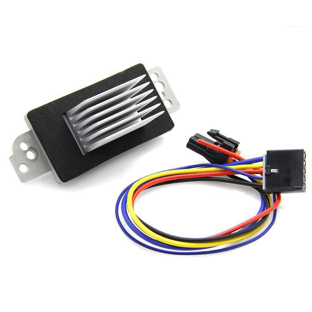 Auto Temp Control Havc Blower Motor Resistor With Wiring Gm Harness For Chevrolet Gmc Buick Cadillac Oldsmobile Pontiac Replace 19260762 22754990