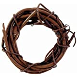 Grapevine Wreath - Natural - 1 inch (1 Pack of 8 Pieces)