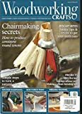 WOOD WORKING CRAFTS MAGAZINE, HAND POWER & GREEN WOODWORKING MAY, 2017