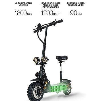 WXJZ Patinete Electrico Adultos Plegable Velocidad 80 Km/h ...