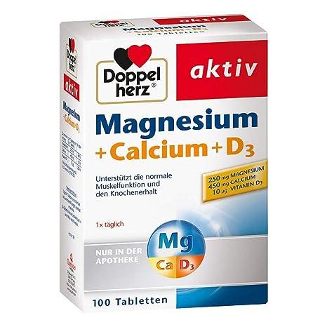 Doble Corazón Magnesio + Calcio + D3 tabl. de queisser PH GmbH ...