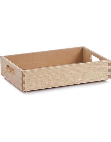 geflammt Kiste 3er Set Aufbewahrungsboxen Dekokiste mit Seilgriffen Natur