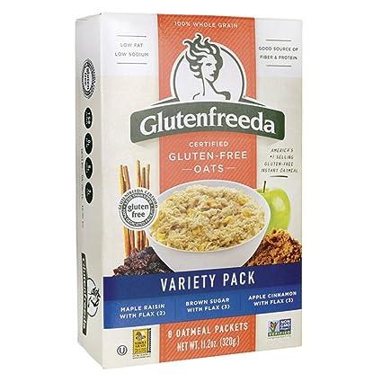 Glutenfreeda - Paquete inmediato de la variedad de la harina de avena - 8Paquetes