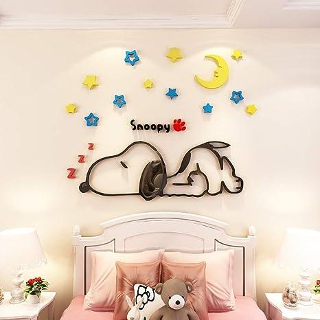 Snoopy Dormitorio Mesita de noche Habitación infantil ...