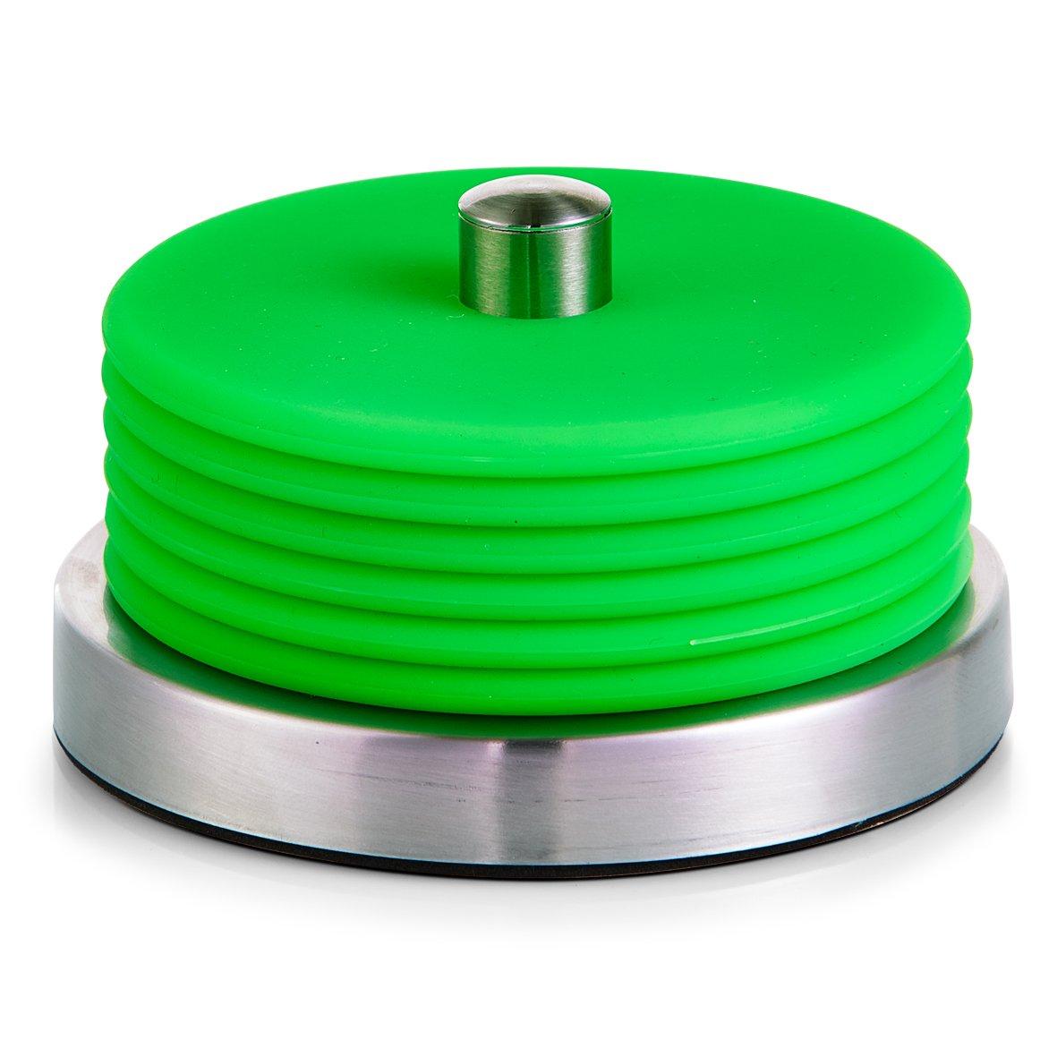 Zeller 2057967 Dessous de Verre Vert 10 x 6 cm 27222