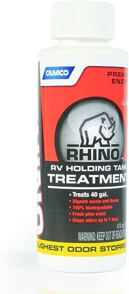 Amazon Com Camco 41515 Rv Trailer Camper Rhino Holding Tank Treatment 4 Oz Bottle Automotive