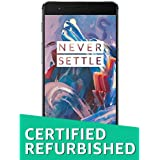 (Certified REFURBISHED) OnePlus 3 (Graphite, 64GB)
