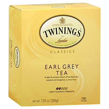 Twinings Classic Earl Grey Te Fuerza 500 De Luz Count Amazon Com Grocery Gourmet Food