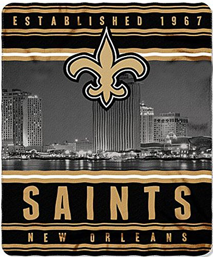 New Orleans Saints Soft Blanket - 6