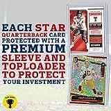 NFL Quarterback Football Card Bundle, Assorted Set