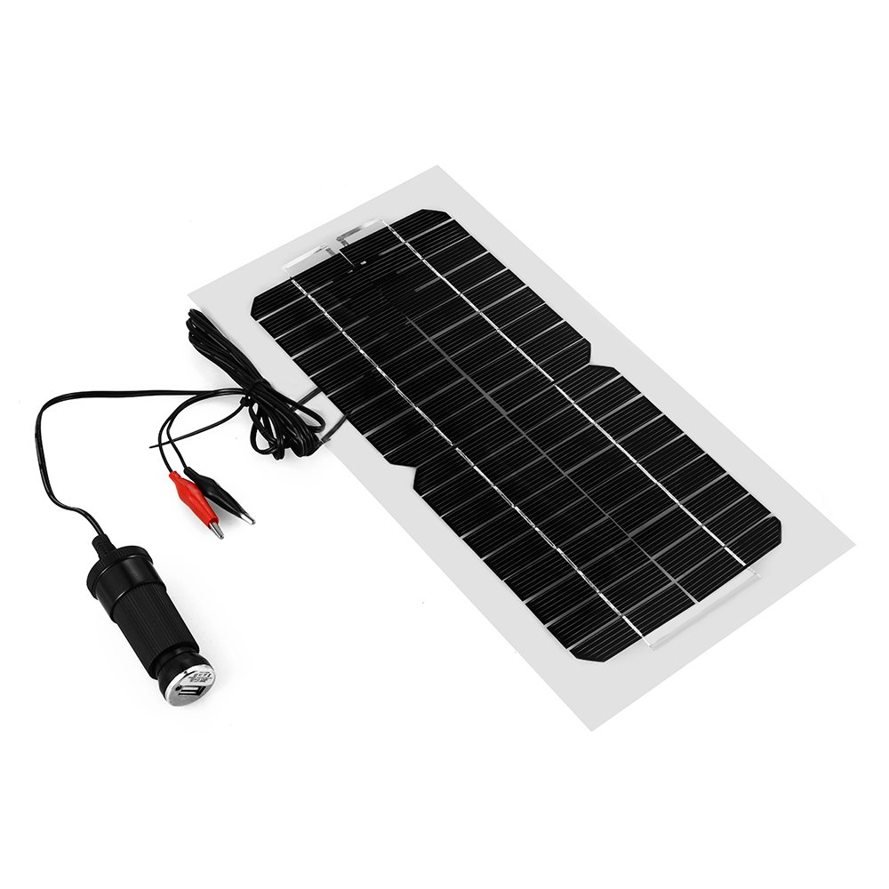 XCSOURCE 5.5W 18V Solar Panel Charger For Car Motorcycle Truck Boat Battery and Mobile Phone BC567