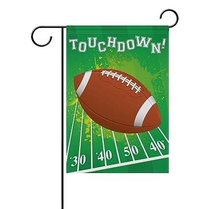 Amazon.com: Fútbol americano de doble cara Touchdown ...