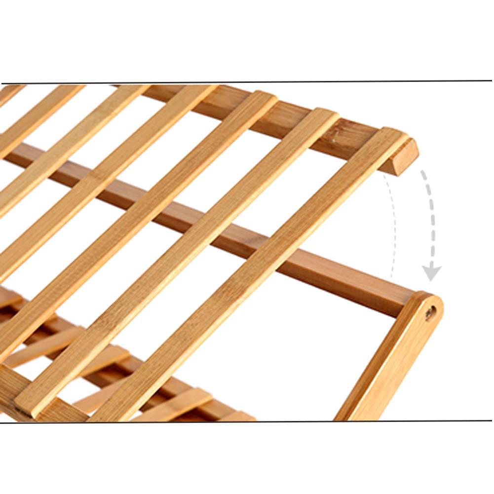 39x10x35inch ALIPC Integrale Kostenlose Installation Schuhregal,Bambus Multi-Schicht Falten Schuhablage Haushaltswohnheim Schuhregal Schuh-Schrank-a 100x25x89cm