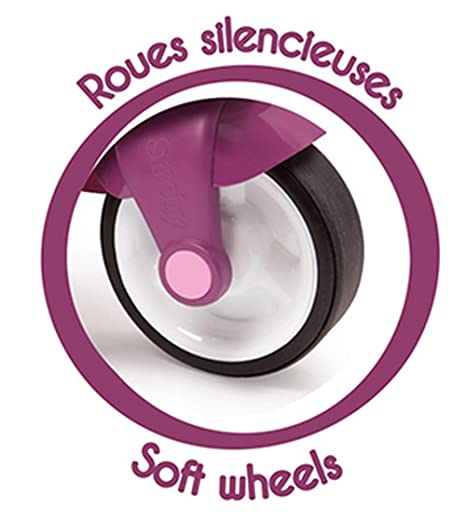 Amazon.com: Smoby Pink - Patinete para niños con llave ...