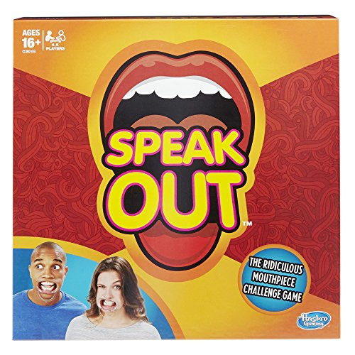 Hasbro Speak Out Game (Halloween Games Adults)