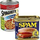 BigMouth Inc (Set) Spam and Spaghettio's Can Secret Safes - Hide in Stuff Plain Sight