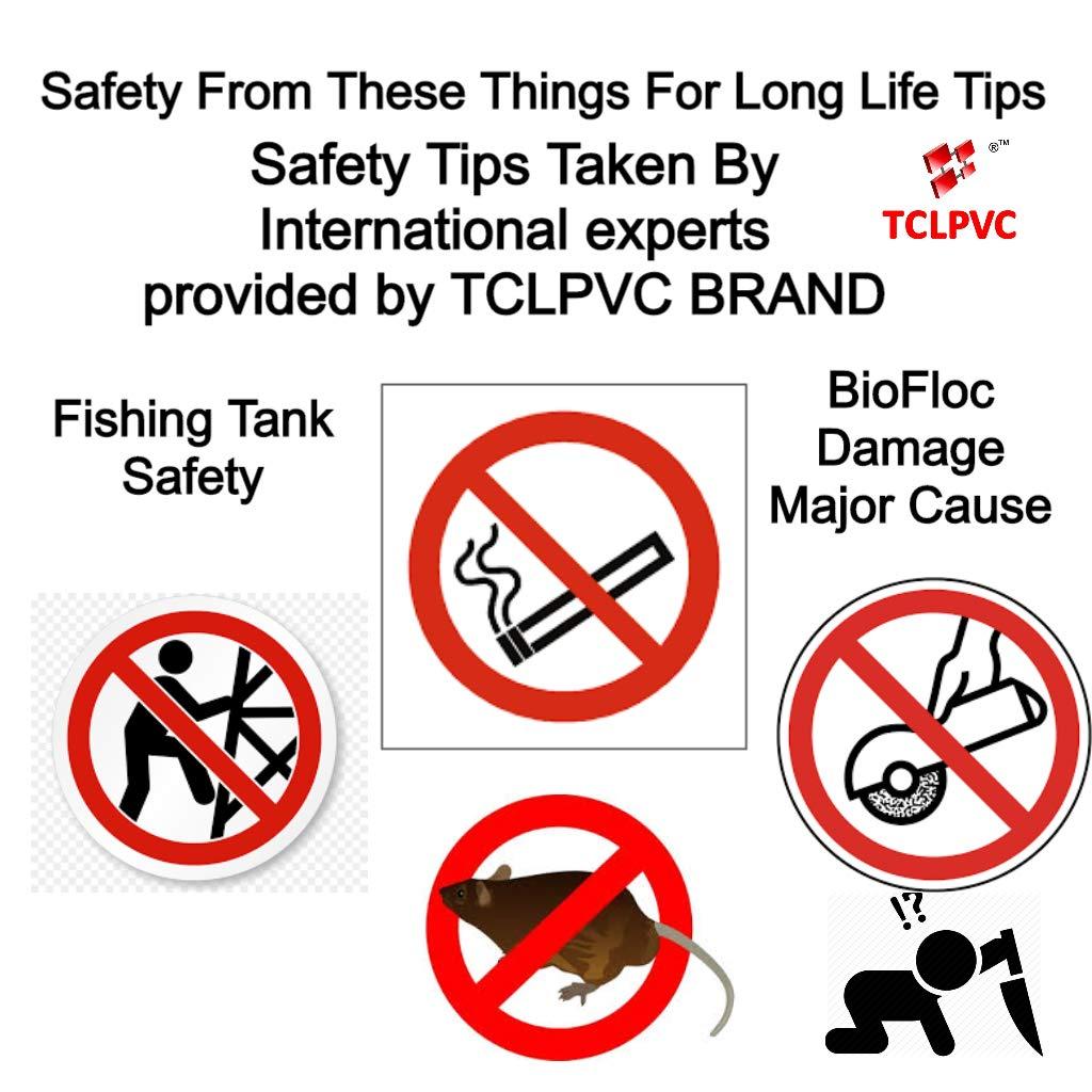 TCLPVC Biofloc Fish Pond Farming Fishing Tank Tarpaulin and