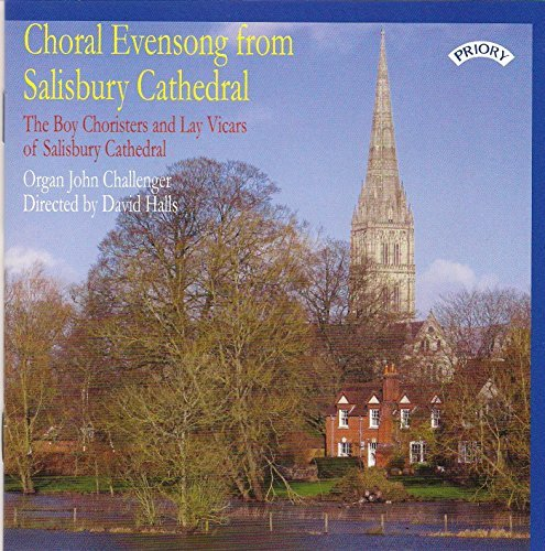 Price comparison product image Choral Evensong From Salisbury Cathedral By The Boy Choristers and Lay Vicars of Salisbury Cathedral , John Challenger (organ) , Herbert Howells (Composer) (2015-02-17)