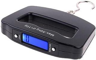 ZHANGYUGE Utile 50kg/10g del Display LCD del Portatile elettronico Digitale Pesce attaccato Peso per Il Bagaglio Gancio all'Ingrosso di Scala