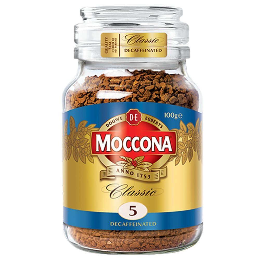 Douwe Egberts Moccona Classic Decaf Instant Coffee 2 Jars 3 5ounce 100gm Each Amazon In Grocery Gourmet Foods
