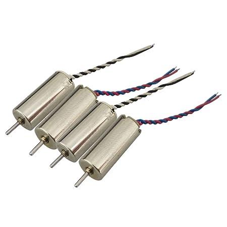 4pcs Motores CW CCW Drone Repuesto Eléctronico Durable para JJRC ...