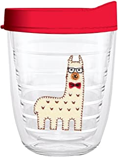 product image for Smile Drinkware USA-LLAMA FELT 12oz Tritan Insulated Tumbler With Lid and Straw