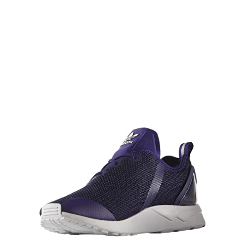 4890ed8ca adidas New Mens Gents Purple Originals Zx Flux Lace Ups Trainers - Purple -  UK