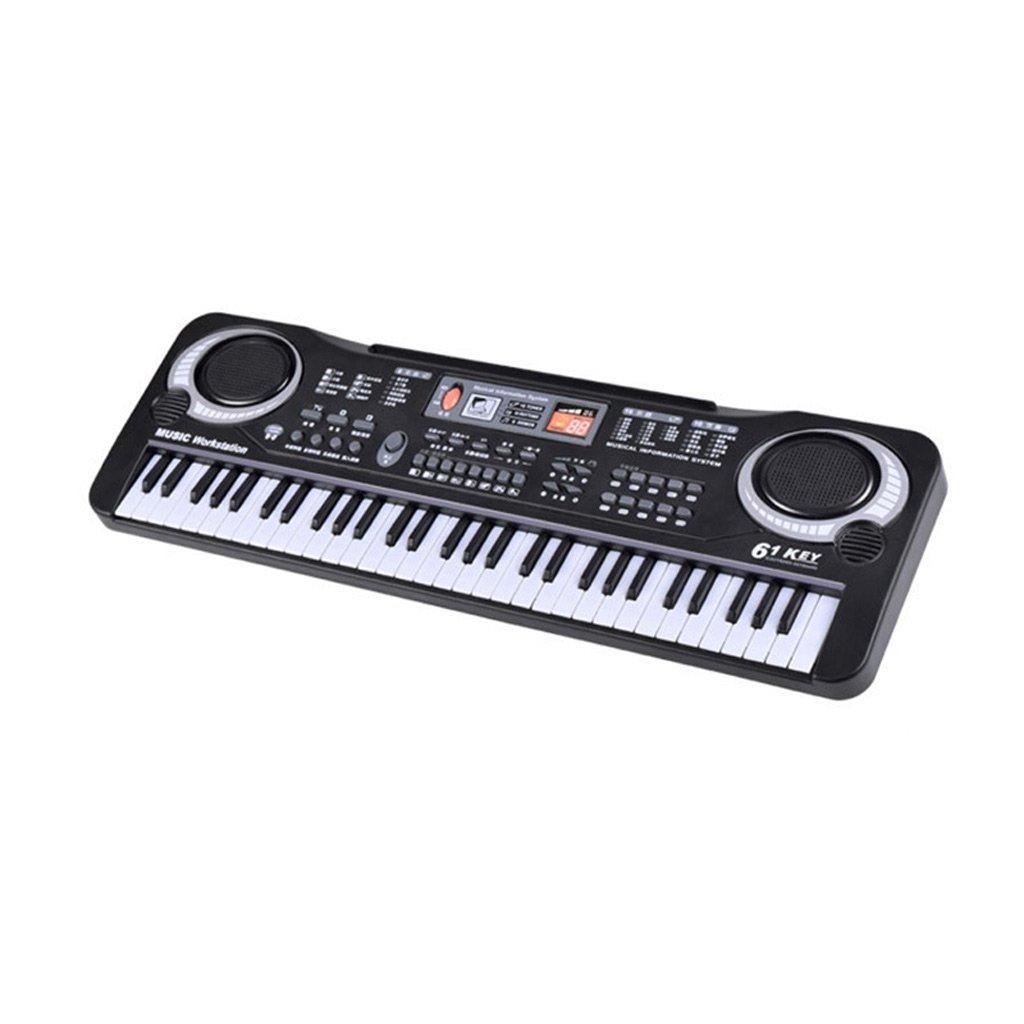 61 Key Kind Tastatur Schwarz Lade Version
