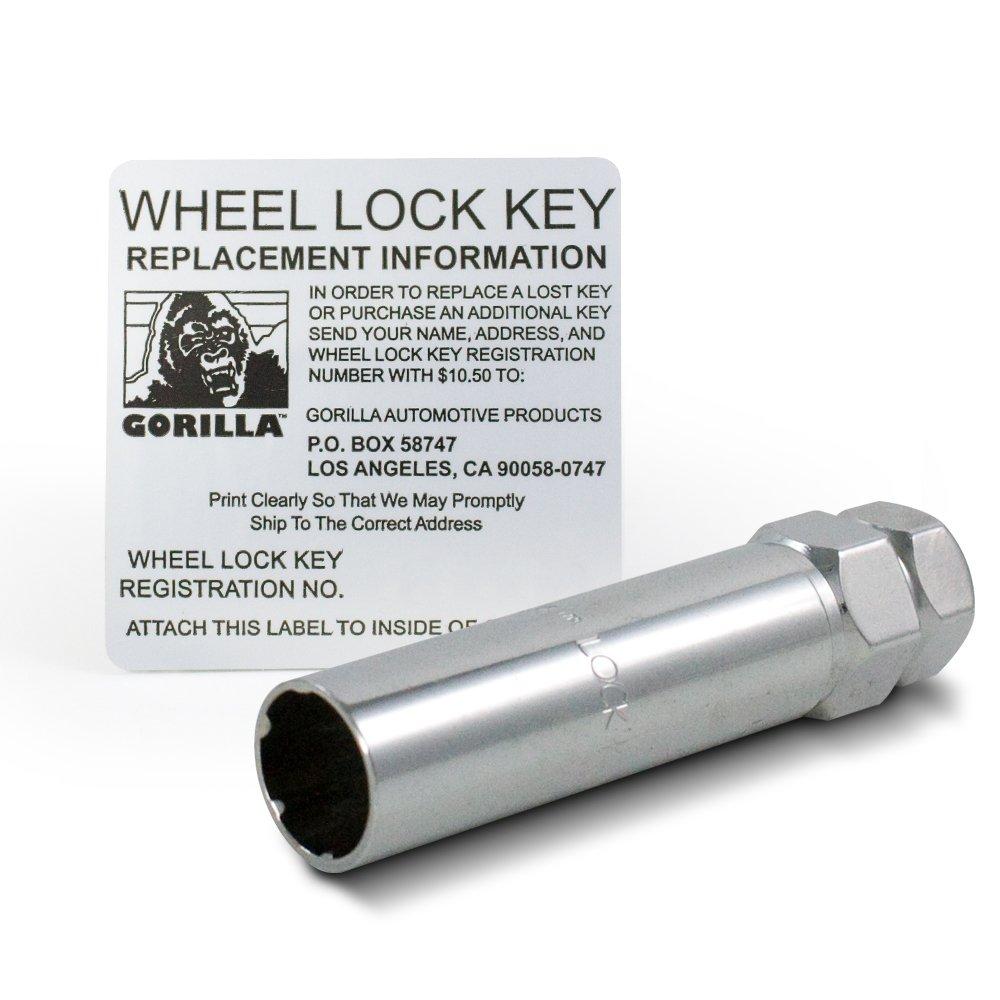 Gorilla Automotive 21681SD Small Diameter Wheel Locks (1/2'' Thread Size) by Gorilla Automotive (Image #5)