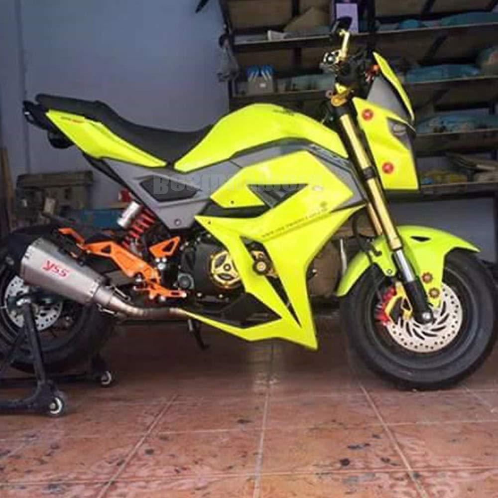 Motorcycle Fairing kit For Honda Grom MSX125 SF Mid Fairing Belly Pan Set for MSX125SF 2016-2017 Black