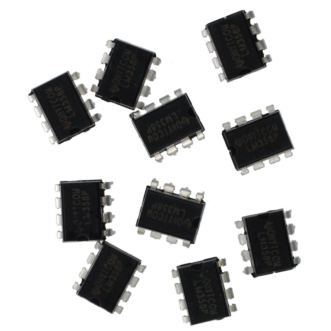 Amplificador - TOOGOO(R) 10x LM358N Amplificador operacional dual de 8 pines de baja potencia: Amazon.es: Electrónica