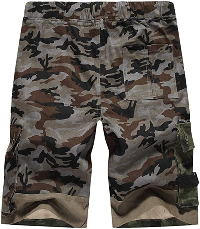 VPASS Pantalones Hombre, Verano Casual Moda Trabajo Corta ...