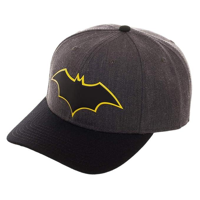 new product c122e 26549 DC Comics Batman Pre-Curved Bill Snapback Hat