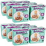 Bambo Nature Baby Diapers Classic, Size 4 (2 Cases of 180), 360 Count