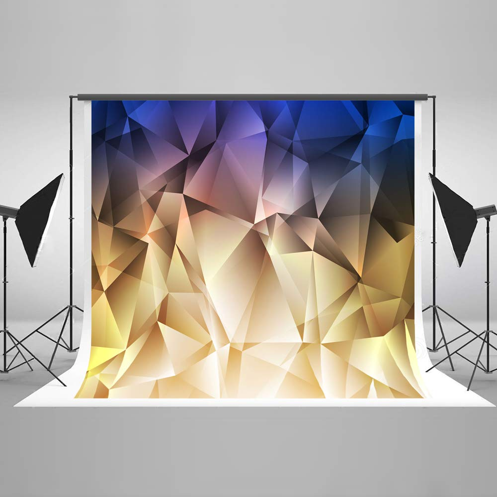 ケイト 10フィート(幅) x10フィート(高さ) 3Dスタイル 写真撮影用背景幕 ファンタジーフォト背景幕 マイクロファイバー カラフルな背景 スタジオ用小道具   B07K1Z764C