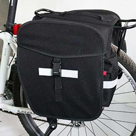 YUYAXBG Bolso para Bicicleta 2 En 1 Gran Capacidad Bolsa De Sillín ...