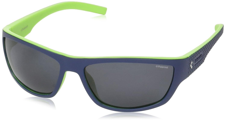 Polaroid Hombre PLD 7007/S C3 RNB 63 Gafas de sol, Azul (Bluette Green/Grey Pz): Amazon.es: Ropa y accesorios