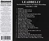 Leadbelly: The Remaining Library of Congress Recordings, Vol. 2: 1935
