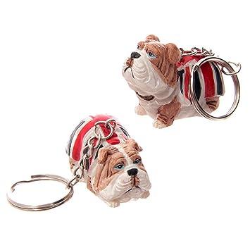 Llavero Bulldog Reino Unido: Amazon.es: Equipaje