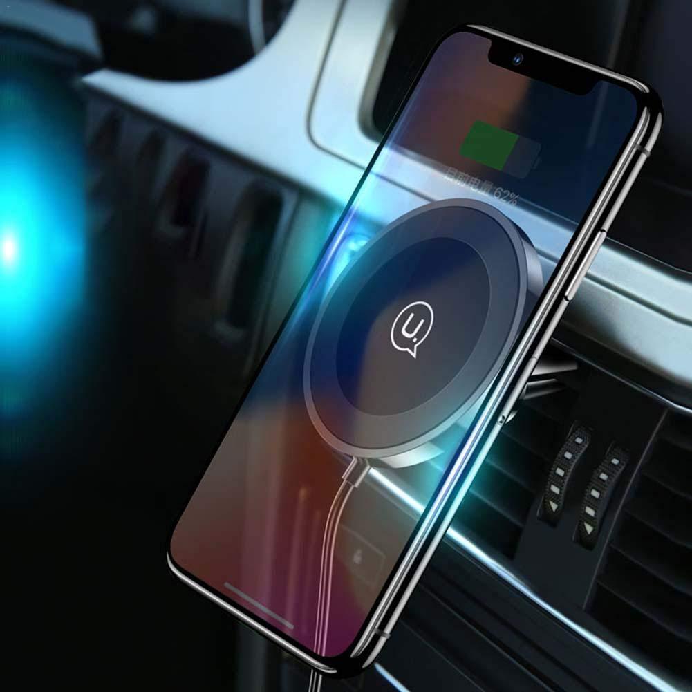 Easy-topbuy Support de T/él/éphone Portable Automatique Inductif Chargeur sans Fil