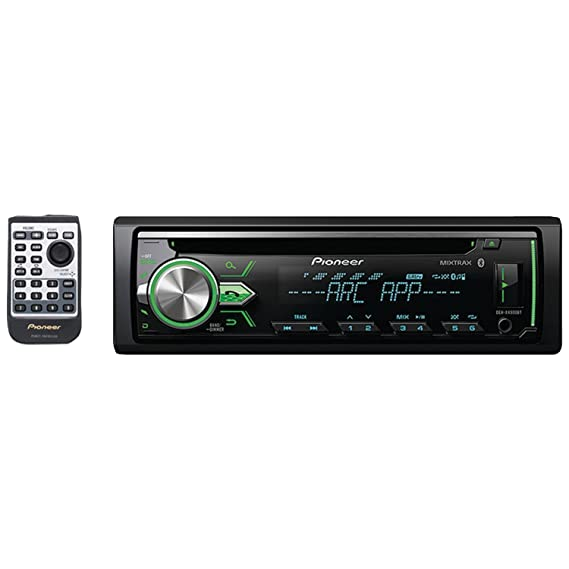 amazon com pioneer deh x4900bt vehicle cd digital music player rh amazon com
