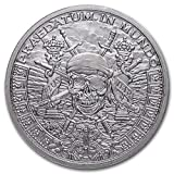 Pieces of Eight Privateer Pirate - 1 oz Silver