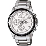 Casio Edifice Chronograph White Dial Men's Watch - EFR-526D-7AVUDF (EX095)