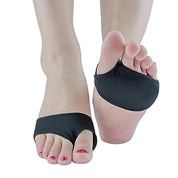 Komfort gel Silikon Fuß Ein Halb Sohle Einlegesohlen Schuhe