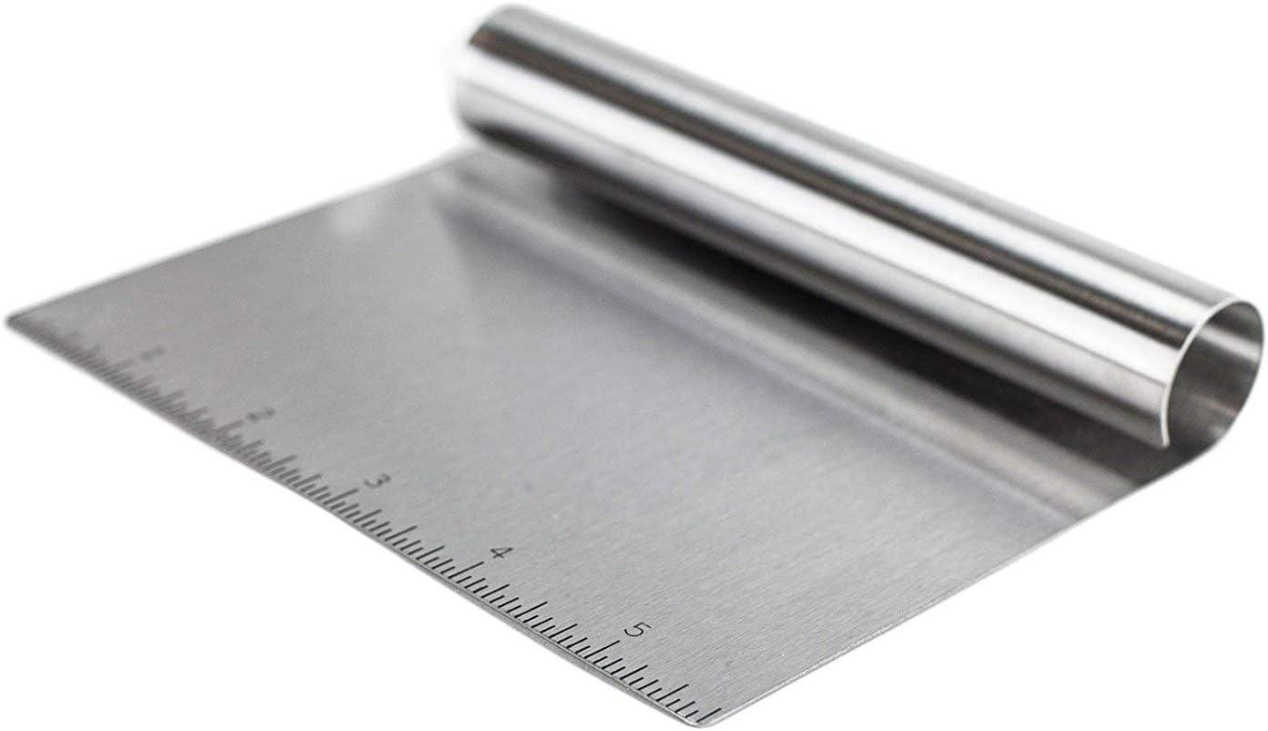 outil de cuisine spatule Grattoir /à p/âte outils en acier inoxydable 1 pi/èce grattoir