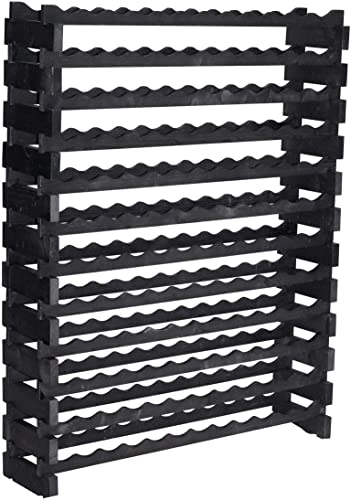 Stackable Modular Wine Rack Storage Stand Display Shelve